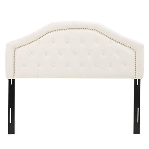 Christopher Knight Home Killian Fabric Headboard, Queen / Full, Ivory