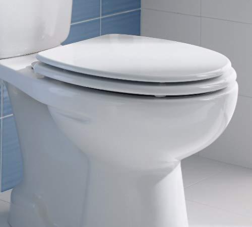 sanitana–München Deckel Toilettensitz Kunststoff weiß