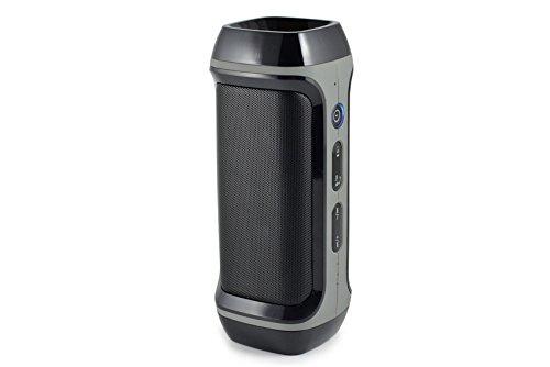 CLiPtec® pbs343Power Beat Bluetooth recargable 4000mAh/cargador portátil Batería [] doble función altavoz para tablets, iPhone, iPad, smartphone, y Plus Encore.