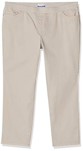 Raphaela by Brax Damen Style Pamina Super Dynamic Jeans, Light Taupe, 42W Regular