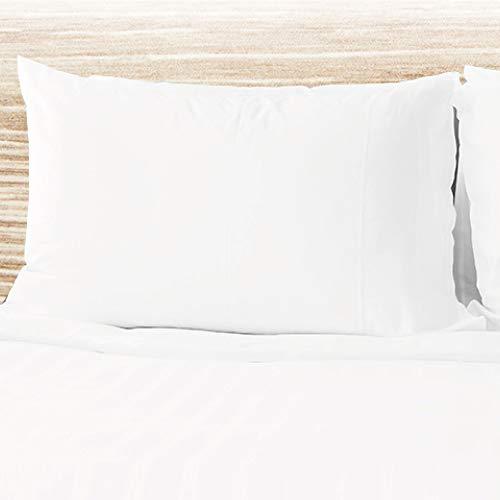 Don Descanso-Protector de Almohada con Cremallera, Funda de Almohada Impermeable Tencel 90 cm. Hipoalergénica, Ultrasuave, Antiácaros, Ecológico 100% Biodegradable, Lavable 60º