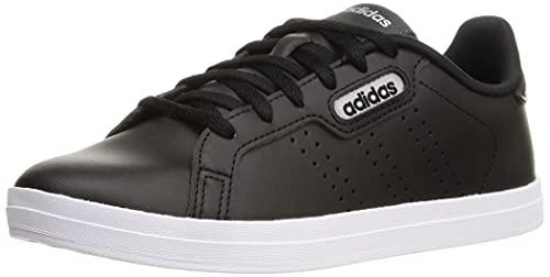 adidas COURTPOINT Base, Zapatillas Deportivas Mujer, NEGBÁS/NEGBÁS/Carbon, 39 1/3 EU