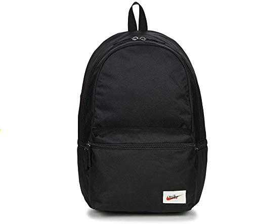 Nike 26.0 Ltrs Black/Black/Orange Blaze Laptop Backpack (BA4990-010)