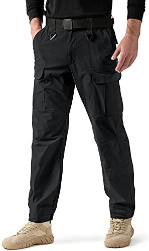 TOMIDOO Men's Military Tactical Pants Lightweight Cargo Work...