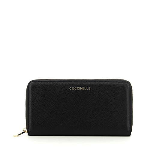 Coccinelle Metallic Soft portemonnee leder 19,5 cm