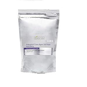 Bielenda Professional Máscara de gel antioxidante para algas facial con glucosa y extracto de bayas de acai 190 g