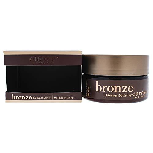 Cuccio Bronze Shimmer Beurre pour Femme Poudre Bronzante 8 oz