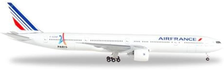 Herpa 506892-004 Air France Boeing 777-300ER B01N4D38BR Genial  | Wir haben von unseren Kunden Lob erhalten.