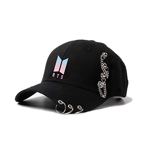 kexx BTS - Gorra de béisbol de tamaño ajustable para Kpop, estilo hip hop, unisex,...