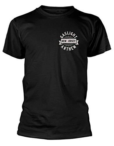 The Gaslight Anthem T Shirt Head & Heart Black Mens Rock Tee