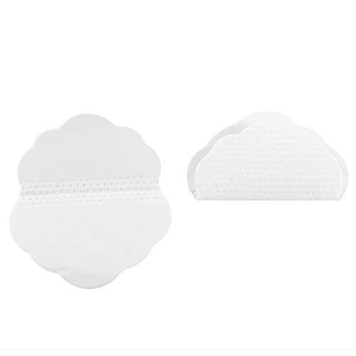 Pads antitranspirantes, quincunx Shaped desechables axilas axila Pads absorción del sudor, desodorante y antitranspirante Mejor alternativa para las mujeres y los hombres (60pcs)