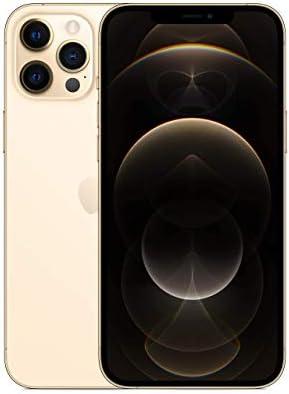Apple iPhone 12 Pro Max, 128GB, Gold – Fully Unlocked (Renewed)
