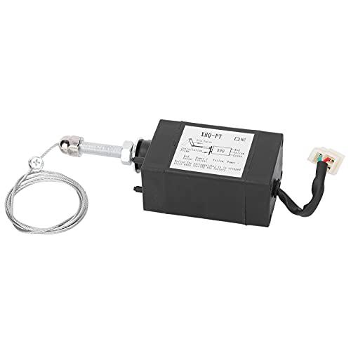 SZHWLKJ Motor Stop Solenoide Válvula Generador Flameout Apagado Controlador XHQ‑PT NO DC12V 2.1'