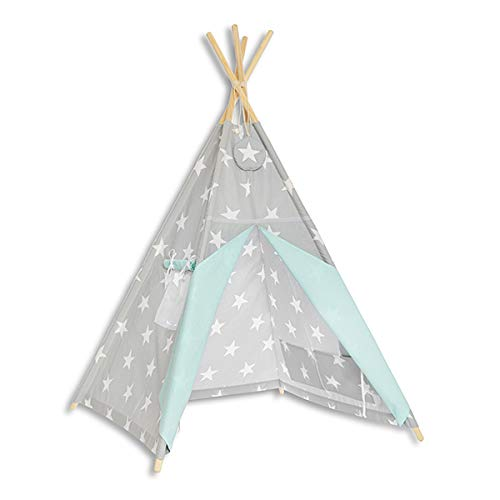 Fun with mum TEE-TEN-MIN-HEA Tipi Tente Multicolore