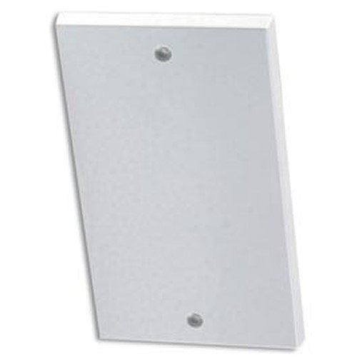 Merriway BH02677 Electric Switch Socket Double Blank Plate - White