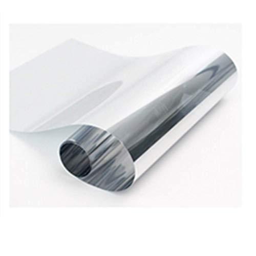 ZXL raamfolie zonwerende folie one-Way doorzichtig glas balkon schaduw sticker venster huis anti-spion papier uv blokkering rate: 99% 150 * 150 cm (grootte: 80 * 150 cm)