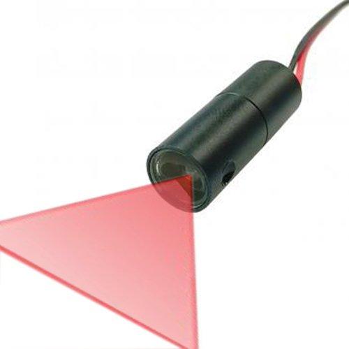 """Quarton Industrial 3D-Scanner Line Laser Module VLM-650-30 LPT10-D90 (Best Laser Line Accuracy 40"""", Fan Angle : 90°)"""