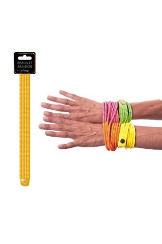Party Pro- Bracelet, Unisex-Adult, 33349, Orange, Taille Unique