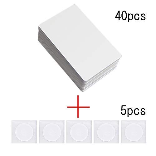 45 unids/Lote NFC NTAG215 Tarjeta PVC AmiiboTagMo