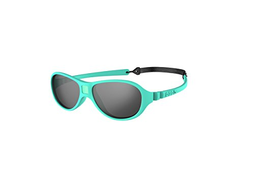Ki ET LA – Gafas de sol para Bebé modelo Jokaki – 100% irrompibles - color Azul Menta – 12-30 meses