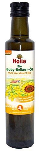 Holle Bio Bio Baby-Beikost-Öl (3 x 250 ml)
