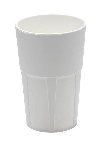 Mojito Design Box Verres à Cocktail, Plastique, Blanc, 0.35 litres, 6 pièces