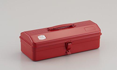 TOYO スチール製 山型工具箱 Y-350 赤<グッドデザイン・ロングライフデザイン賞受賞>