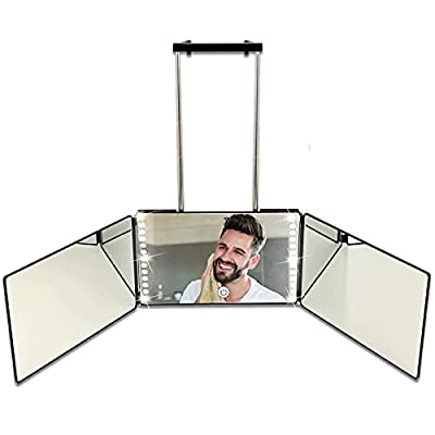 Rechargeable Way Mirror for