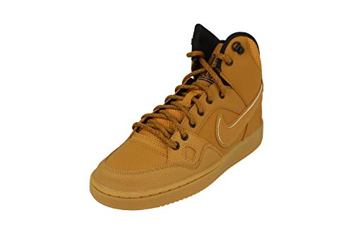 Nike Son of Force Mid Winter GS Hi Top Trainers 807392 Sneakers Shoes (UK 3.5 us 4Y EU 36, Wheat Black 700)