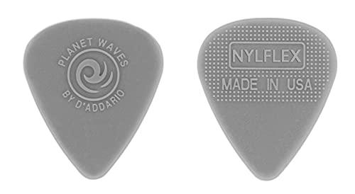 Planet Waves 1NFX2-100 NYLFLEX Classic Nylon Picks - 0.5 mm Light, 100-pack
