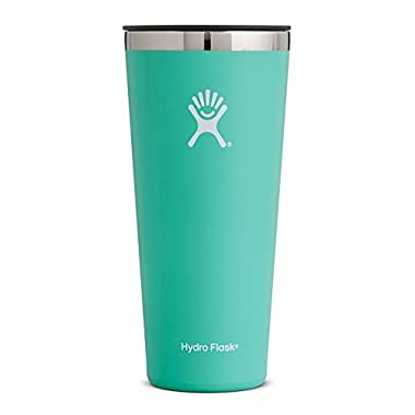 Hydro Flask 32 oz Double Wall Vacuum Insulated Stainless Steel Travel Tumbler Cup with BPA Free Press-In Lid, Mint