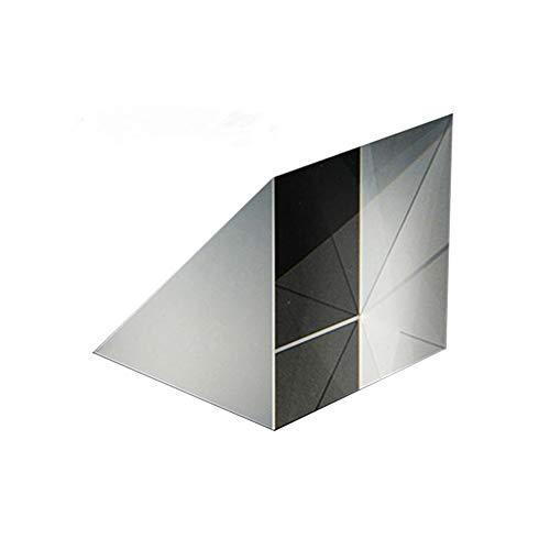 Coherny Optical Glass Triangular Prisms Right Angle Isosceles Prisms Lens Optical K9 Glass Material Testing Instrument