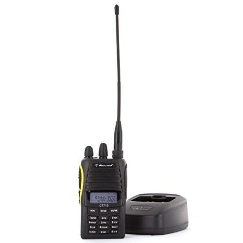Midland CT710 Dual Band Walkie-Talkie, Nero