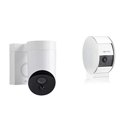Somfy 2401560 - Outdoor Camera - Caméra de Surveillance Extérieure WiFi &...