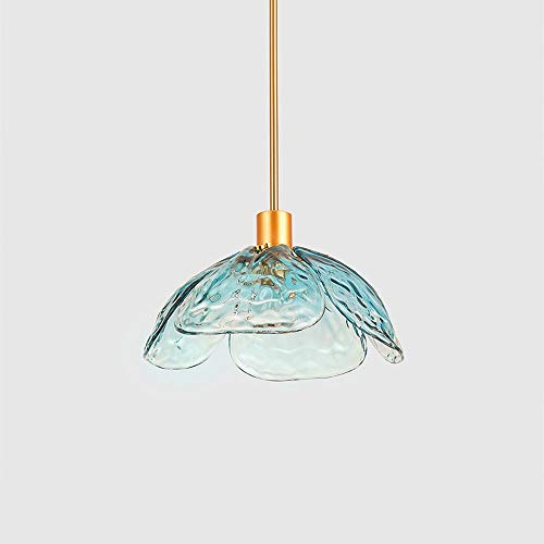 Lighfd Moderne Simple Chandelier Nordic glazen kroonluchter Showroom Restaurant Keuken Stairs Entrance Bedroom Chandelier Creative Design Chandelier Sample Room Four Leaf Lamp