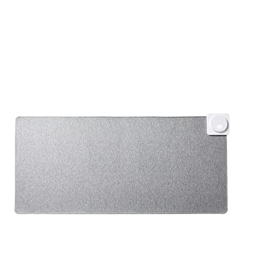 N / B Alfombrilla de ratón con calefacción, Calentamiento de Temperatura Constante de grafeno, con Pantalla Digital e Interfaz USB, Ajuste Continuo de 35 ° a 60 °, para Oficina, Trabajo