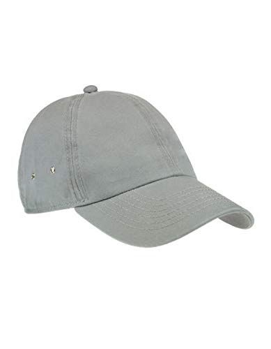 Atlantis Action 6 Panel Chino Baseball Cap - Grey - OS