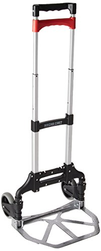 Magna Cart Personal 150 lb Capacity Aluminum Folding Hand Truck (Black/Red) Hawaii