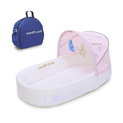 SeedFuture 2 - Saco de dormir portátil para bebé recién nacido