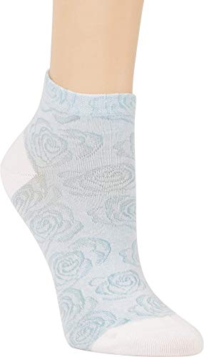 ch-home-design 3 Paar Kurzsocken Kurzstrumpf ''Rosa'' Socken für Teenager & Damen RS - 5293 (35-38, Weiß-Grau-Schwarz)