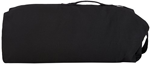 Stansport 1206 Deluxe Duffel Bag with Shoulder Strap, 50' X 14.5' X 14.5', Black