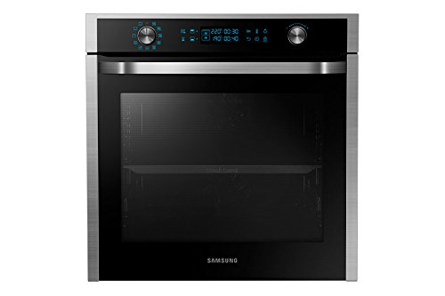 Samsung NV75J5540RS–forno (Medium (45–75L Totale Capacity), 75L, elettrico, integrato, Nero, Acciaio inossidabile, girevole, toccare)
