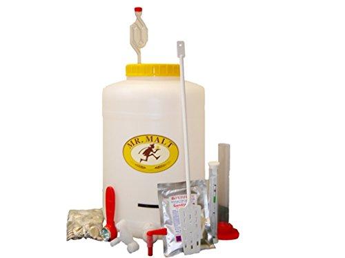 Kit fermentazione BIRRA 'Mr.Malt' modello eco per fare la birra in casa