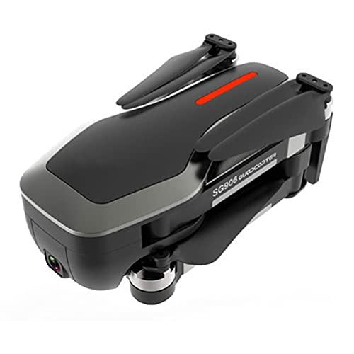 COFFEE CAT SG906 PRO 2 GPS RC Drohne mit Kamera 4K 3-Achsen Gimbal Brushless Motor 5G WiFi FPV Optische Durchflusspositionierung Quadcopter Wegpunkt Flug 2000m Kontrollentfernung 60min (Color : Red)