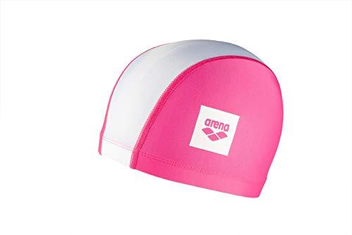Arena Unix II Jr, Cuffia per Bimbi Unisex Bambini, Multicolore (Pink/White), Taglia Unica