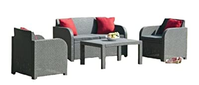 Anthracite Grey Lounge Set OGD18