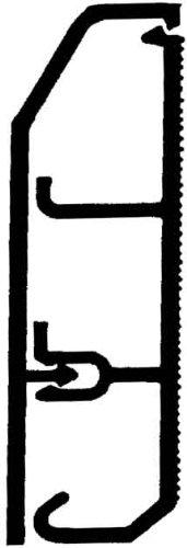 Rehau Elektro.Inst. SL-L Kanal 17338201100 20/70 cws Sockelleistenkanal komplett 4007360079024