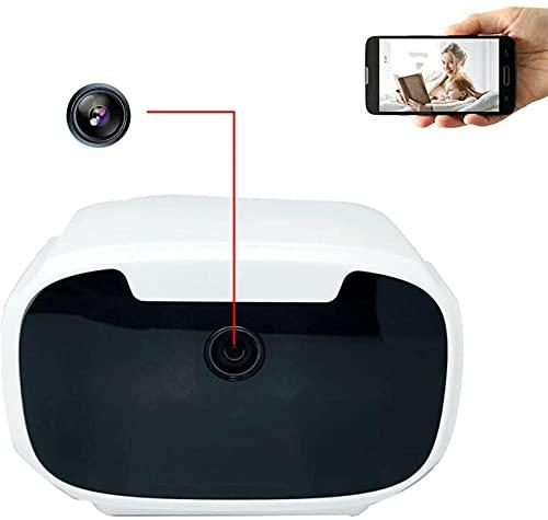 LXDZXY Cámara Oculta Espía, Reloj Electrónico 1080P HD Mini Cámara Espía Soporte Grabador De Video Y Detección De Movimiento Adecuado para Dormitorio/Baño, Etc.