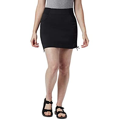 Columbia Women's Anytime Casual Skort, Black, Medium