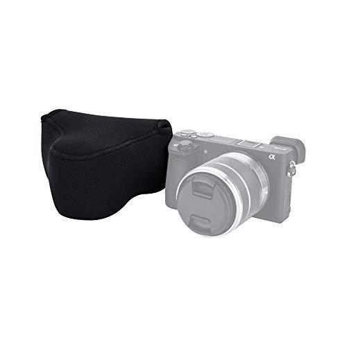 JJC Ultra-Light Neoprene Camera Case Pouch for Sony A6600 A6500 A6400 A6300 A6100 A6000 A5100 A5000 + E 18-55mm/10-18mm/50mm Lens And Other Camera & Lens Below 4.7 x 2.9 x 5.1